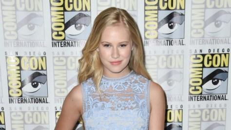Mandatory Credit: Photo by Rob Latour/REX Shutterstock (4903081p) Danika Yarosh 'Heroes Reborn' TV series photocall, Comic-Con, San Diego, America - 12 Jul 2015