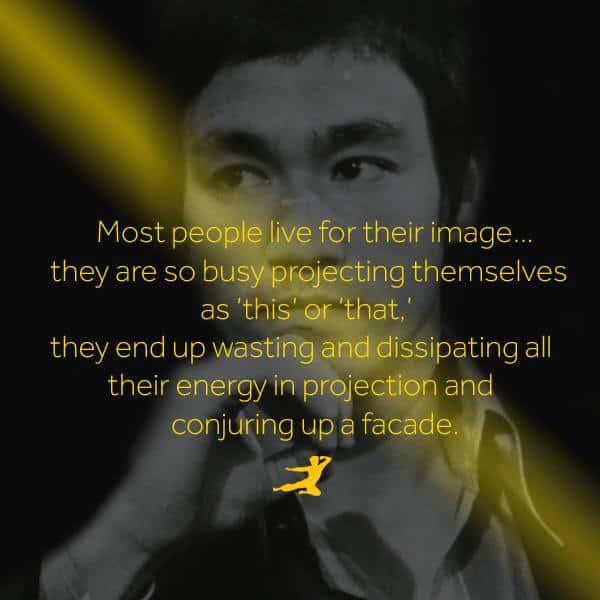 Legendario Personal en palabras de Bruce Lee