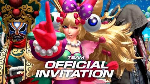 KOFXIV_TeamOfficialInvitation