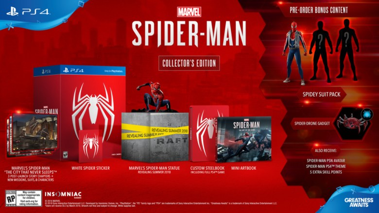 Spider-Man_PS4_CollectorsEdition_la_vida_es_un_videojuego