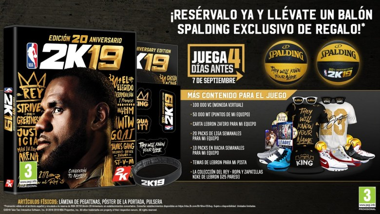 NBA 2K19_LeBron James_la vida es un videojuego_2