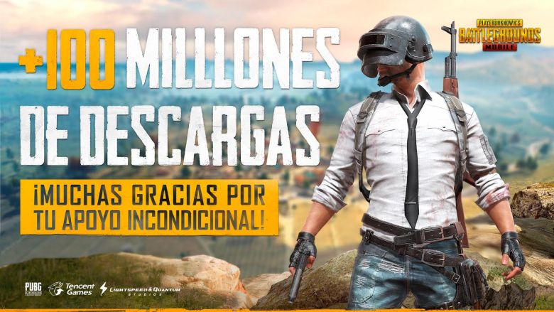 100 MILLONES DE DESCARGAS_PUBG_LAVIDAESUNVIDEOJUEGO