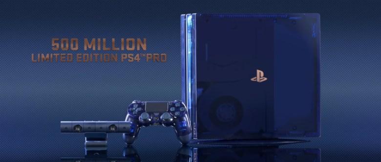500 Million Limited Edition PS4 Pro_lavidaesunvideojuego