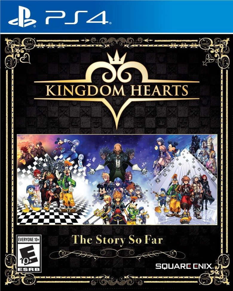 Kingdom Hearts-The Story So Far-lavidaesunvideojuego-recopilación