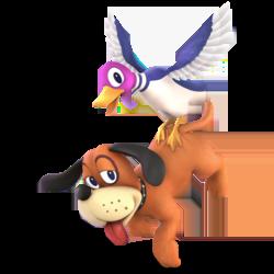 Super Smash Bros. Ultimate_personajes_duckhunt_lavidaesunvideojuego_1