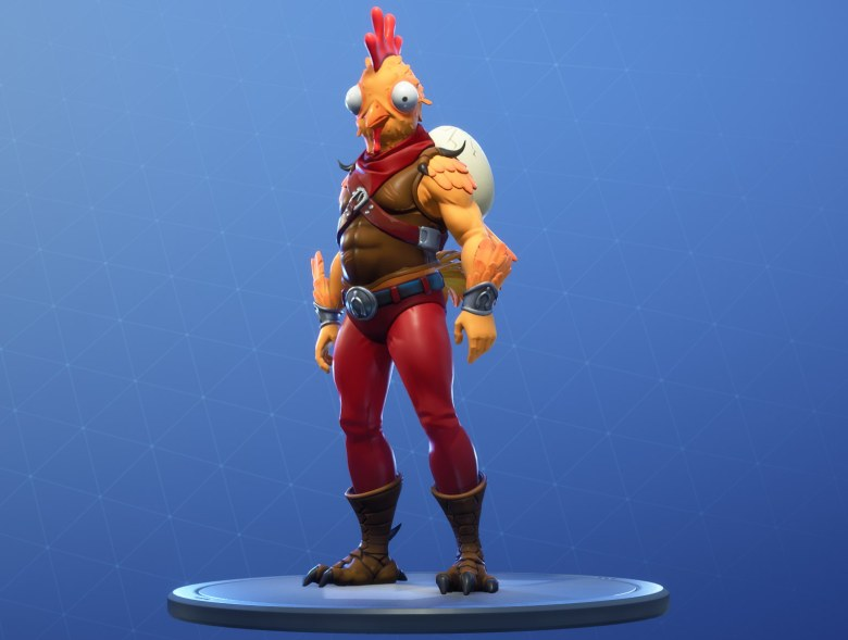 fortnite-chicken-trooper-lavidaesunvideojuego