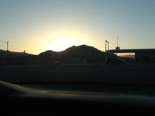 Obigatory desert sunset shot