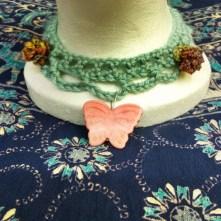 Sky Blue Pink Necklace