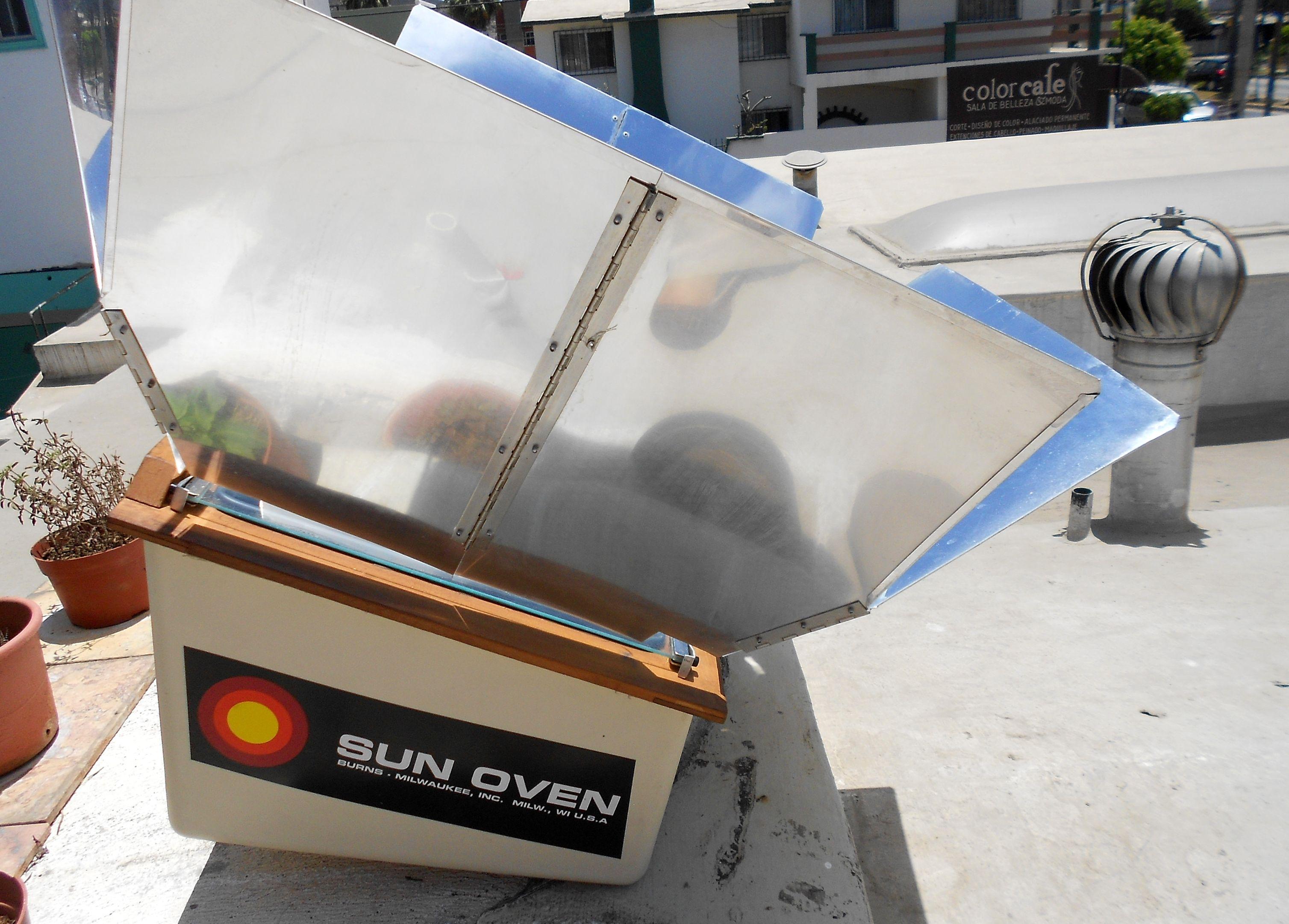 Horno Solar Usando