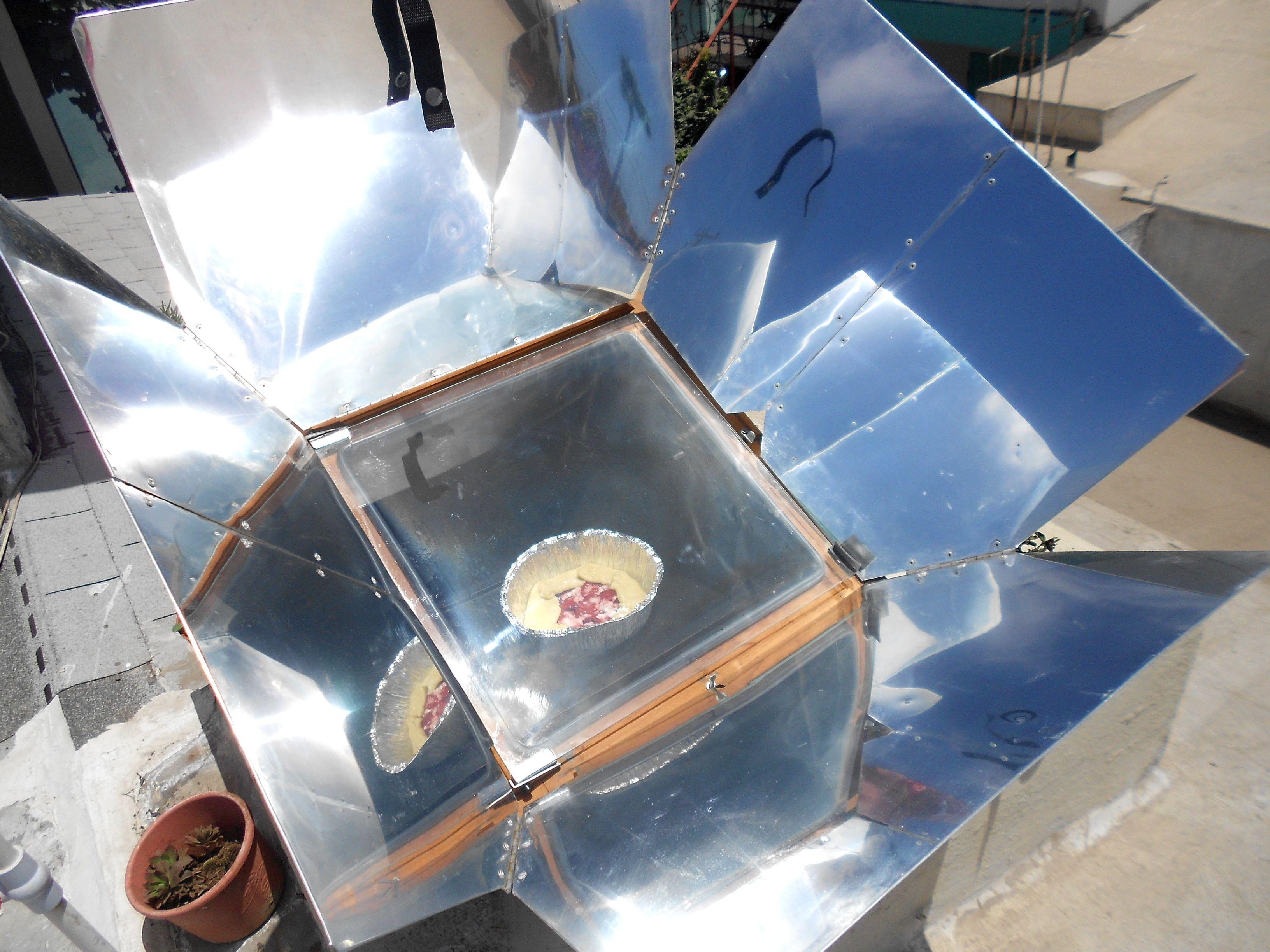 Usando mi Horno Solar  La Vida Hecha a Mano