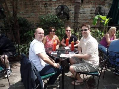 La Vida Sunshine's NOLA Experience - Pat O'Briens