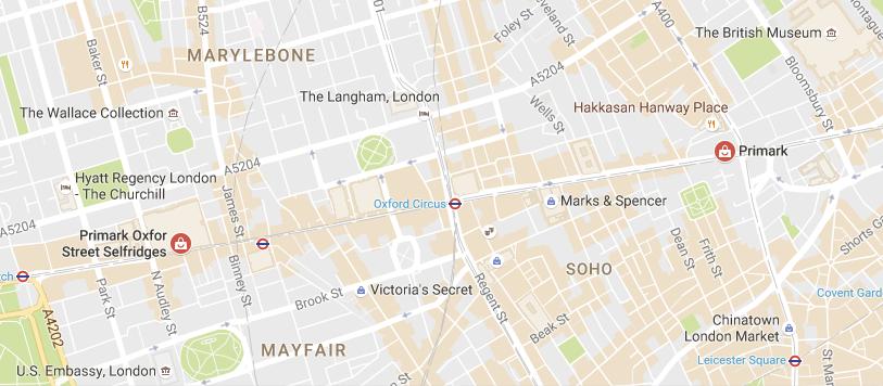 Que Je Vous Conseille De Visiter Se Trouvent Tous Les Deux Dans Le Centre Pouvez Voir Sur La Carte Ci Dessous Leurs Emplacements Primark Londres