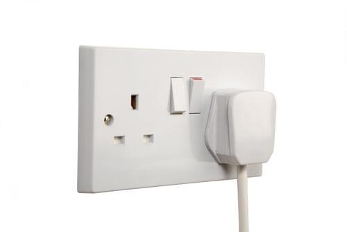 Prises électriques Angleterre