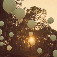 There Were Gardens And Trees And Balloons In The Sky