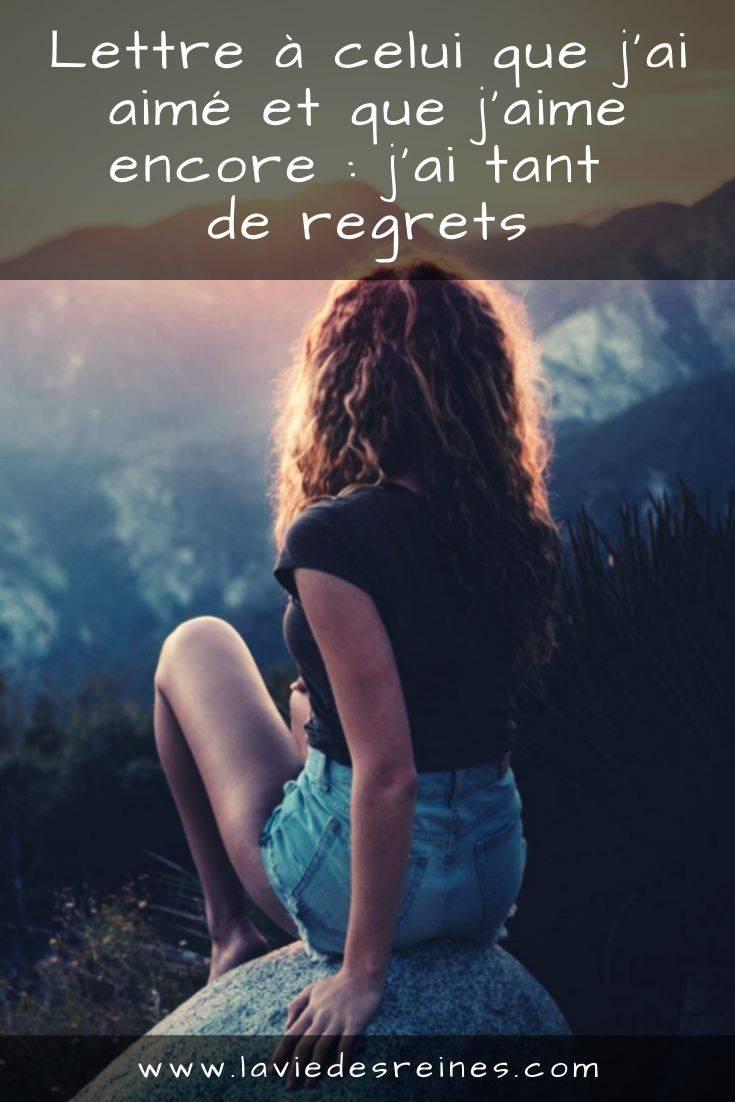 Je Te Quitte Parce Que Je T Aime : quitte, parce, Lettre, Celui, Aimé, J'aime, Encore, Regrets