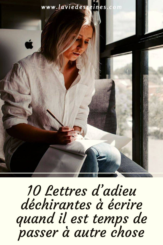 Donne Le Change En 5 Lettres : donne, change, lettres, Lettres, D'adieu, Déchirantes, écrire, Quand, Temps, Passer, Autre, Chose
