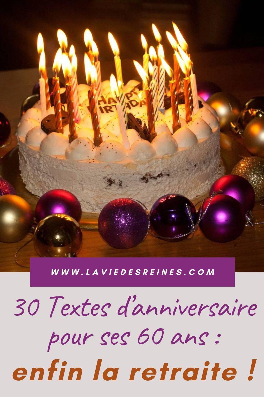 Comment Refaire Sa Vie A 60 Ans : comment, refaire, Textes, D'anniversaire, Enfin, Retraite