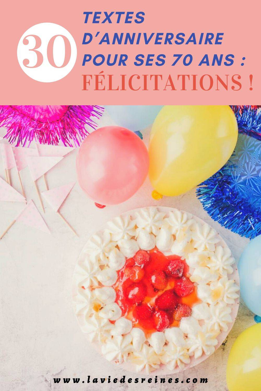 Message Anniversaire 70 Ans : message, anniversaire, Textes, D'anniversaire, Félicitations