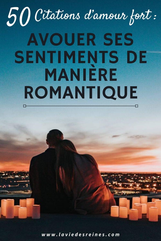 Citation Amour Fort Et Sincere : citation, amour, sincere, Citations, D'amour, Avouer, Sentiments, Manière, Romantique