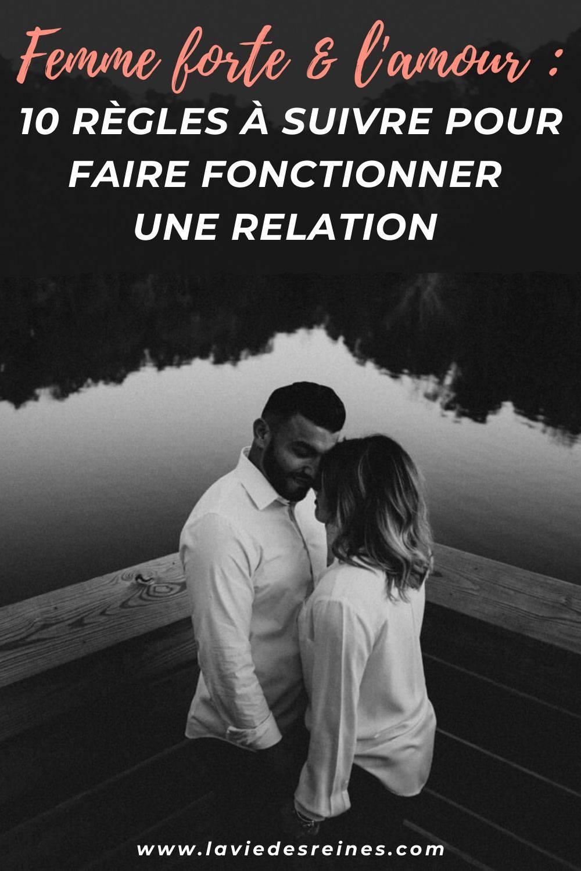 Preuve D Amour Pour Elle : preuve, amour, Femme, Forte, L'amour, Règles, Suivre, Faire, Fonctionner, Relation