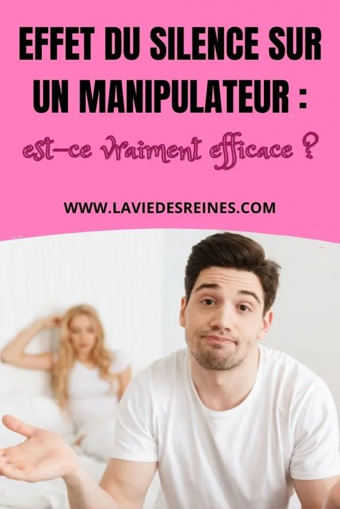 Le silence face à un manipulateur - Affirmation de soi .info