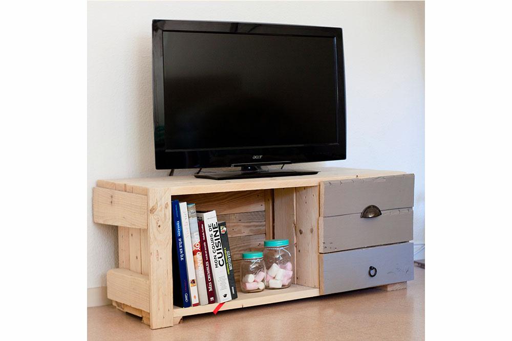 meuble tv en bois la vie du bois