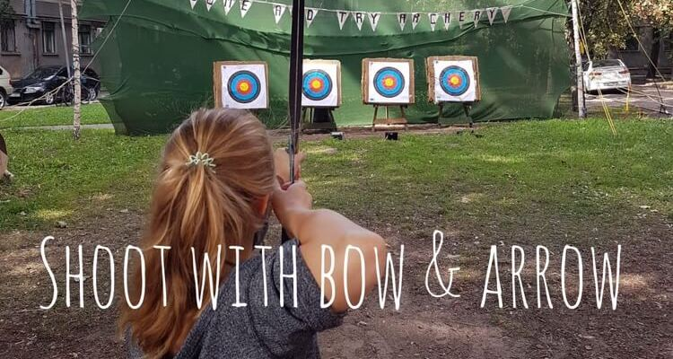 Pursuing my Bucket List: Shoot with Bow and Arrow
