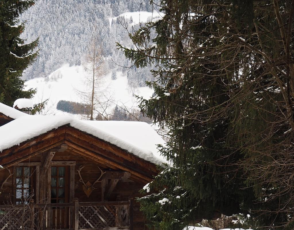 Megève en hiver, ses chalets si charmants