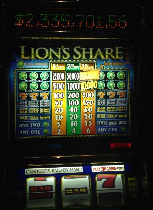 The Lion's Share, a Las Vegas Legend