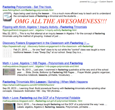 MTBoS Search Engine yeah!