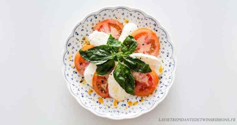 Salade caprese