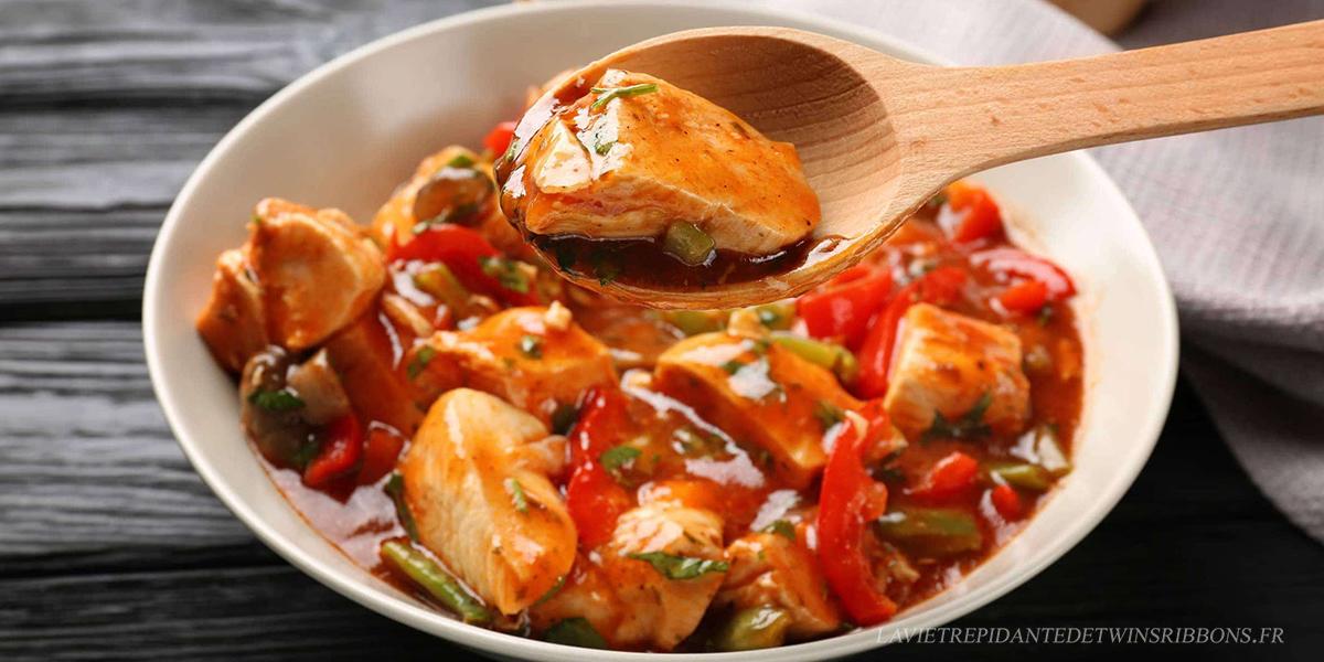poulet basquaise healthy express