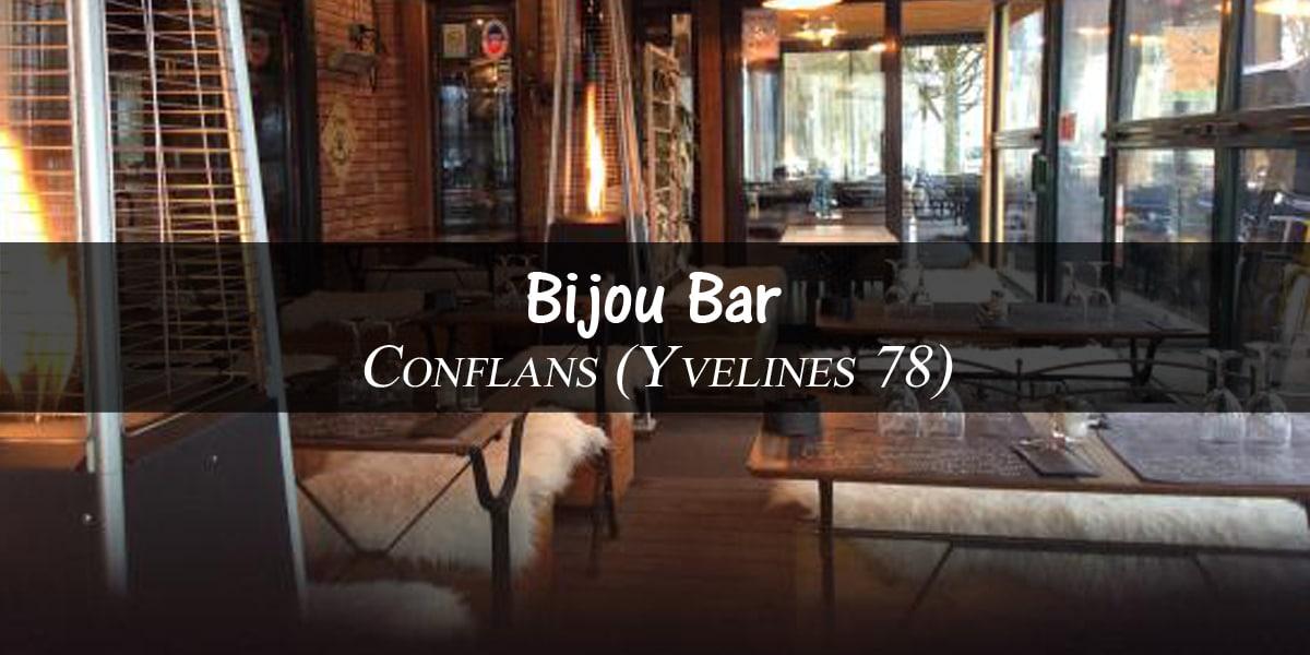 BON PLAN YVELINES (78) BAR : LE BIJOU BAR