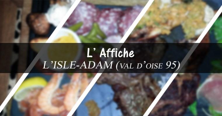Restaurant l'affiche – l' Isle-Adam