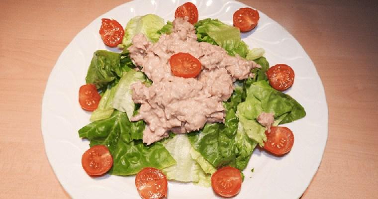 salade de thon au concombre