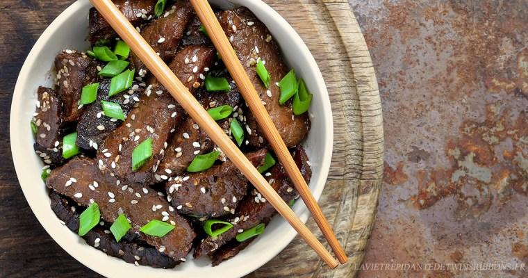 bœuf sauté au poivre – 黑椒牛柳