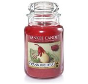 BOUGIE CRANBERRY PEAR – YANKEE CANDLE
