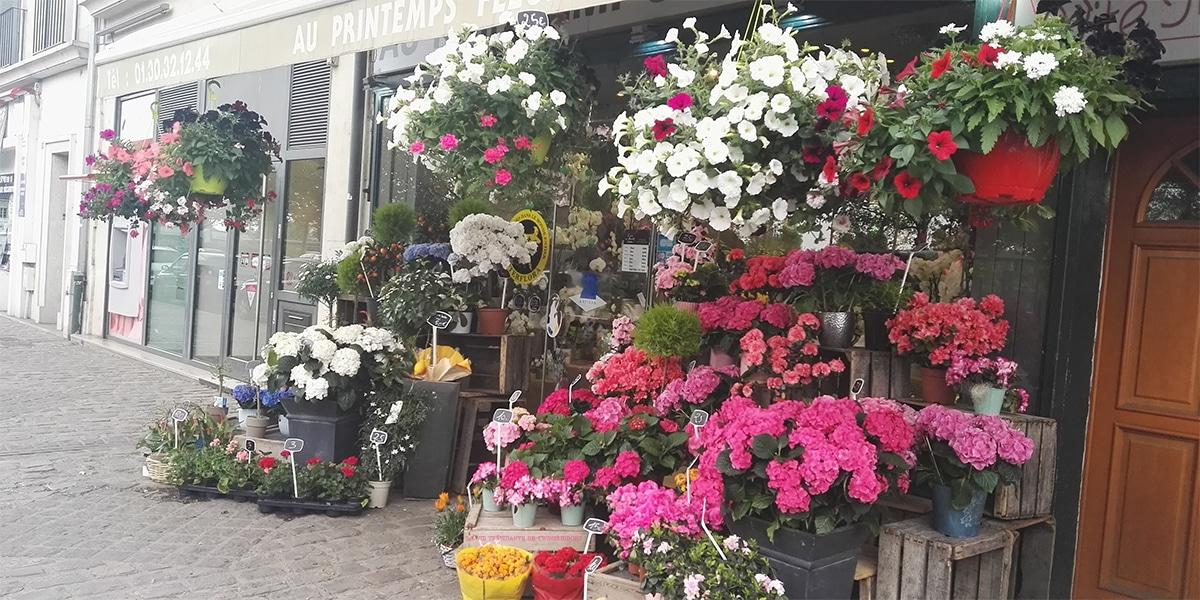 Au printemps fleuri – Pontoise