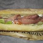 sandwich boeuf roti crudité – boulangerie les délices de la gare