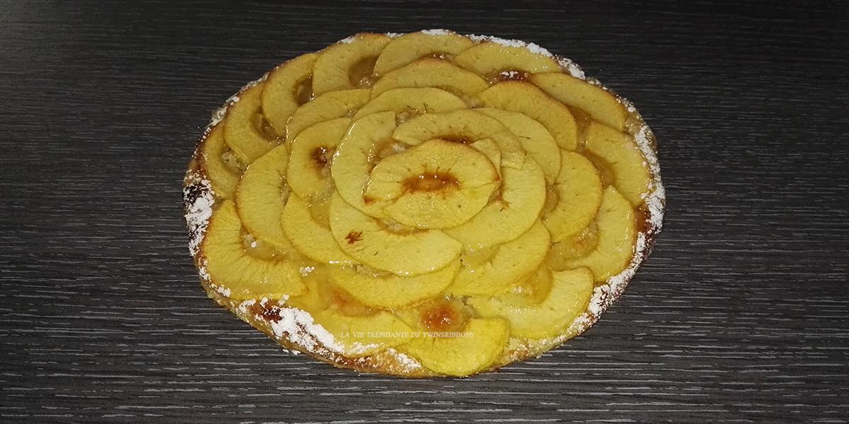 J'ai testé pour vous : la tarte fine aux pommes – boulangerie les délices de la gare