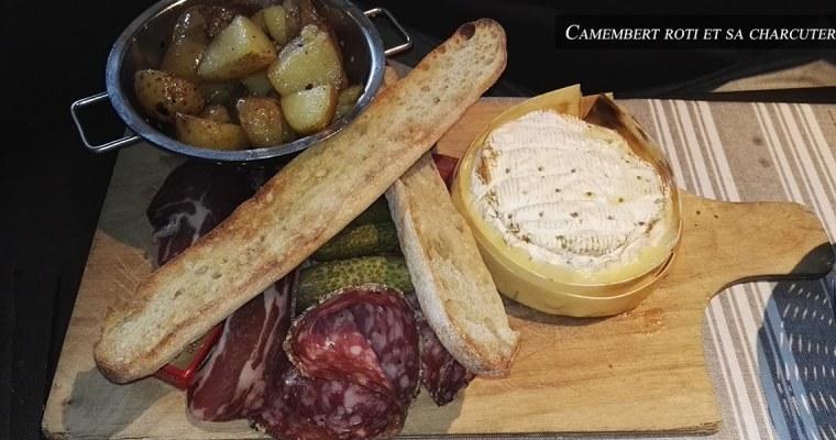 J'ai testé pour vous : le camembert rôti et sa charcuterie – La taverne des rois