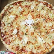 Pizza quatre fromages de chez pizza d' Osny