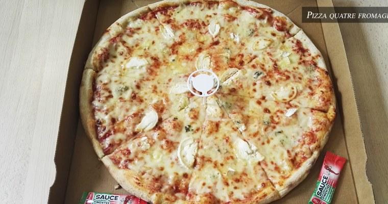 J'ai testé pour vous : la pizza quatre fromages — PIZZA D' OSNY
