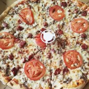 Pizza texas de chez pizza d' Osny
