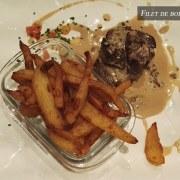 Filet de boeuf sauce roquefort – Restaurant Le 8