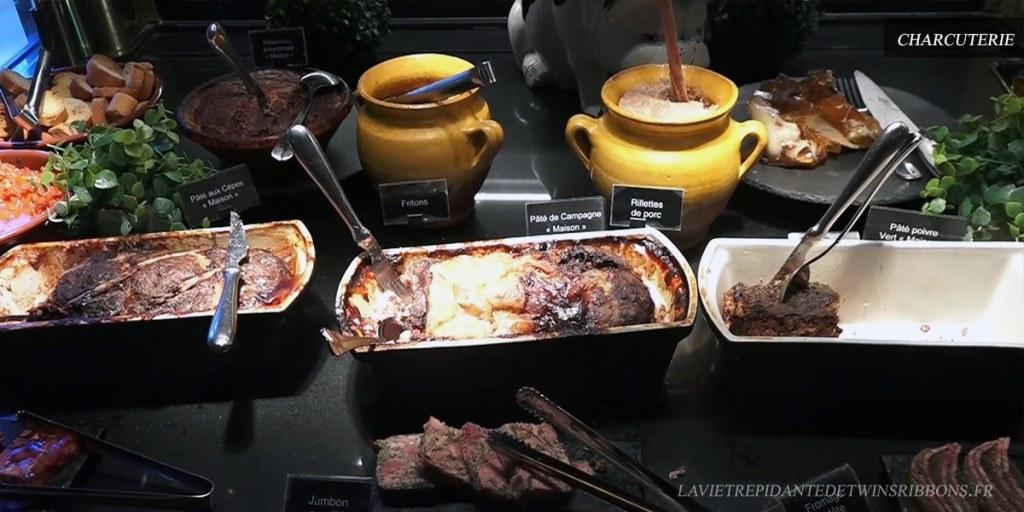 buffet charcuterie - les grands buffets de Narbonne