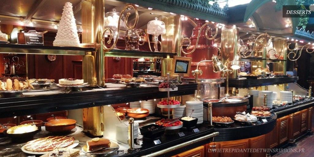 buffet desserts - les grands buffets de Narbonne
