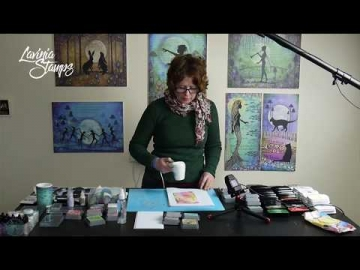 Working with Distress Oxide Inks. A Lavinia Stamps Tutorial