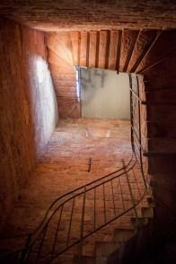 Treppenaufstieg Bismarcksäule