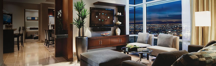 las vegas aria 1 & 2 bedroom suite deals